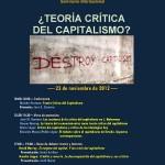 ¿Teoría Crítica del capitalismo?
