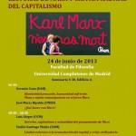 """Jornada de Clausura """"En el horizonte de la crisis: Nuevas lecturas de Marx y crítica radical del capitalismo"""""""