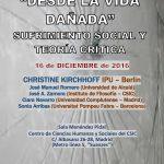 Desde la vida dañada: sufrimiento social y teoría crítica