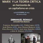 Marx y la Teoría Crítica desde el horizonte de un capitalismo en crisis