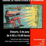 Fantasmagorías del amor: Goethe, la Teoría Crítica y lo Femenino – UPF, 5 de junio de 2018