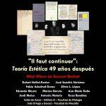 """""""Il faut continuer"""": Teoría estética, 49 años después"""