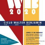 Ciclo Walter Benjamin 2020